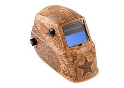 welding helmet auto darkening solar