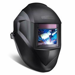 TACKLIFE Welding Helmet, Large Viewing Area, Top Optical Cla