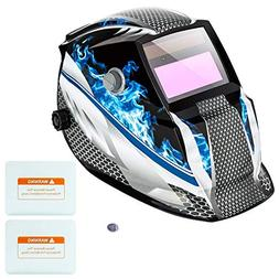 Z ZTDM Welding Helmet Mask Solar Auto Darkening,Adjustable S