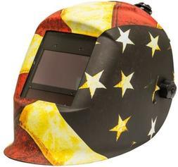 Welding Helmet Master Series Patriot, Auto-Darkening, ANSI C