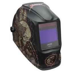 Welding Helmet, Graveyard Shift Graphic