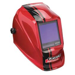 LINCOLN ELECTRIC Welding Helmet,Red,3350 Series, K4034-3, Re