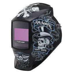 Welding Helmet, Shade 8 to 13, Black MILLER ELECTRIC 281001