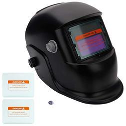 Z ZTDM Welding Helmet Solar Auto Darkening,Adjustable Shade