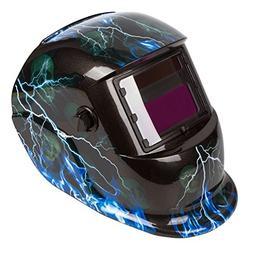 Welding Helmet Solar AUTO Darkening MIG TIG ARC Cap Mask Hoo