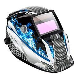 Z ZTDM Welding Helmet Pro Solar Auto Darkening Hood Adjustab