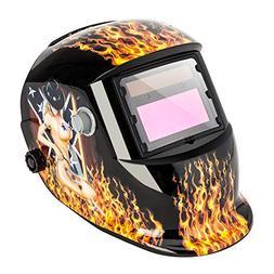 Z ZTDM Welding Helmet Pro Solar Auto Darkening,Adjustable Sh