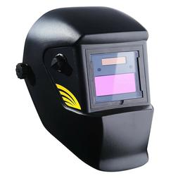 DEKOPRO Welding Helmet Solar Powered Auto Darkening Hood wit