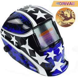Welding Helmet Solar Powered Auto Darkening Hood with Adjust