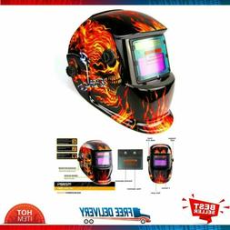 Welding Helmet Solar Powered Auto Darkening Hood with Adjust