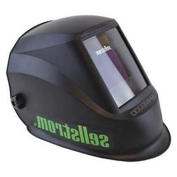 SELLSTROM Welding Helmet,WHM 2000 Series,Black, S26200, Blac