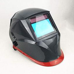 Welding Helmet, 4 Sensors Solar Power Auto Darkening, Full S