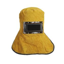 Welding Helmets - Safe Hood Helmets Leather Welder Eyes Mask