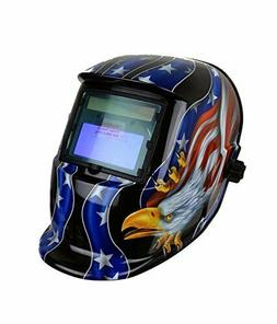 Welding Helmets ADF Series GX-500S Solar Powered Auto Darken