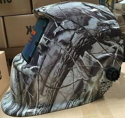 XDH pro Solar Auto Darkening Welding Helmet Arc Tig mig cert
