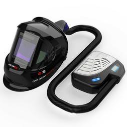 YesWelder Q800D Auto Darkening Welding Helmet with PAPR Kit